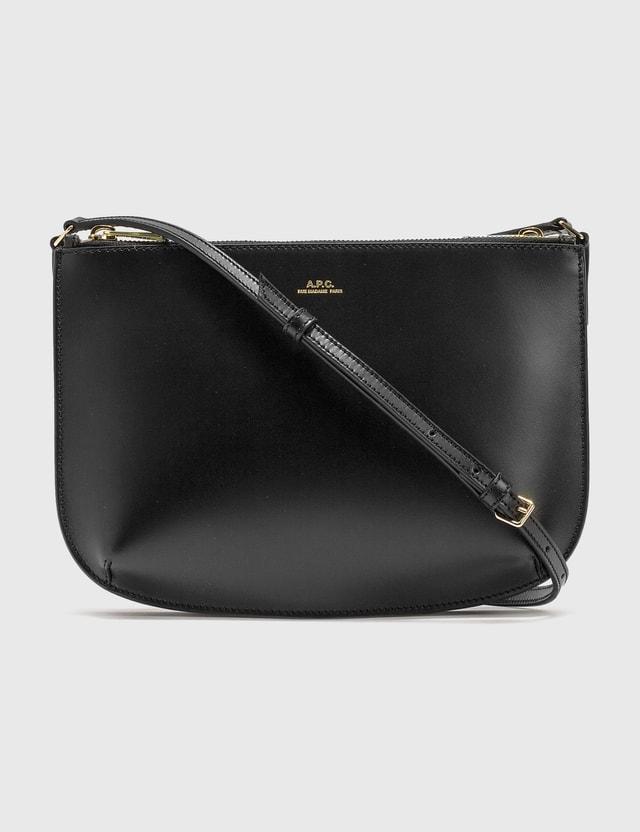 A.P.C. Sarah Cross Body Bag Lzz Black Women