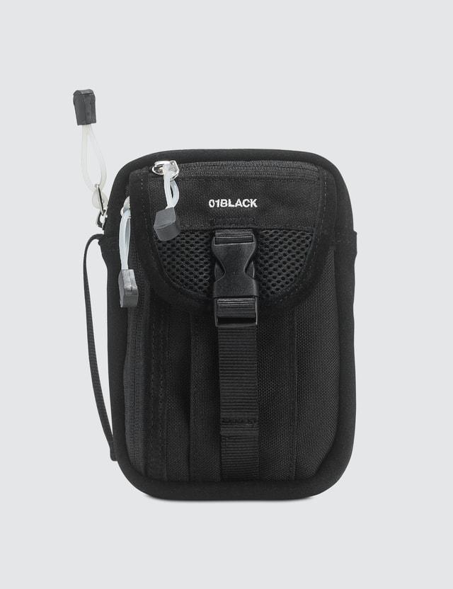Nana-nana Cordura Pouch Bag Black Women