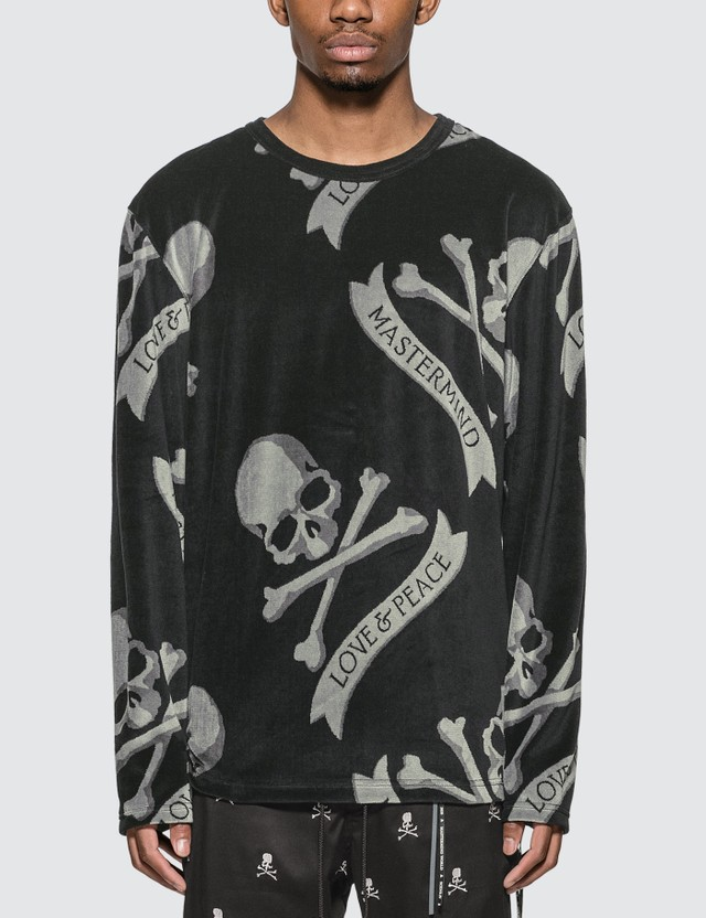 Mastermind World Tropical Skull Long Sleeve T-shirt