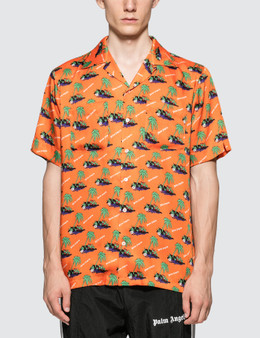 Palm Angels HBX Exclusive All Over Print Shirt