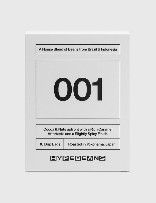 HYPEBEANS HYPEBEANS Drip Bag Box Set White Unisex