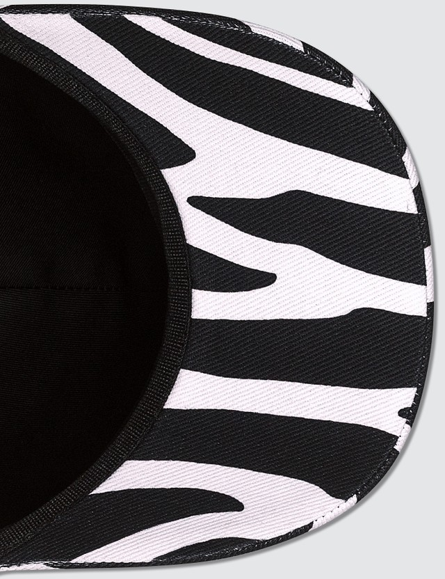 Versace Savage Zebra Print Cap