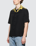 Versace Feather Print S/S Shirt