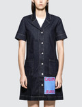 Calvin Klein Jeans Waitress Logo Dress Picutre
