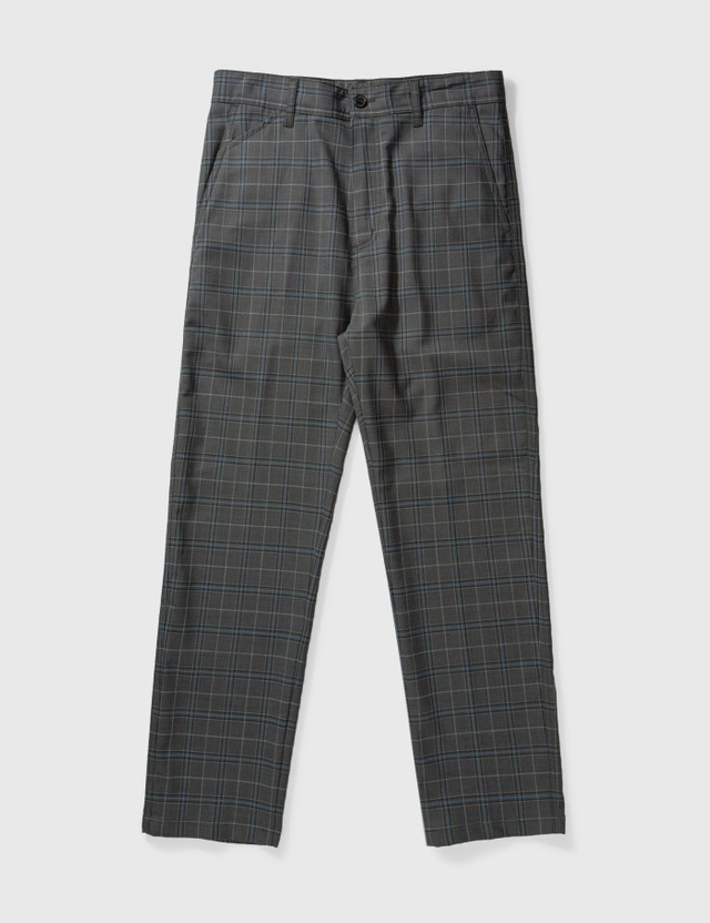 Carhartt Work In Progress Menson Pants Stowe Check, Wave Men