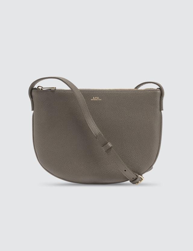 A.P.C. Maelys Leather Crossbody Bag