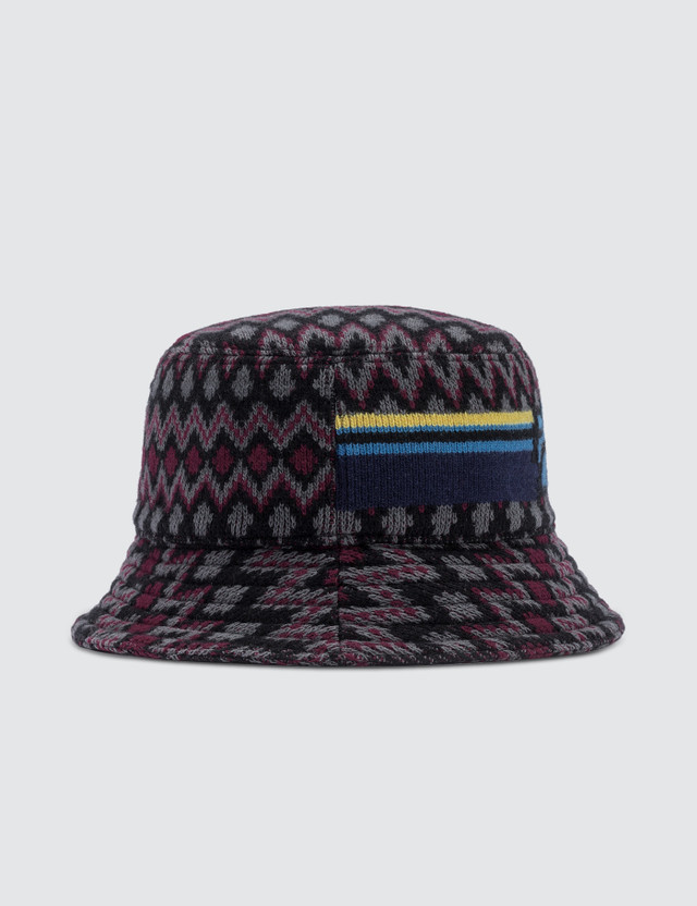 Prada Chevron Bucket Hat