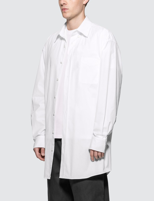 Maison Margiela Oversized Broadcloth Shirt