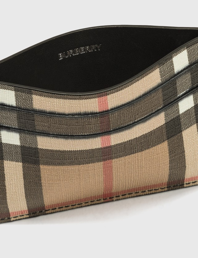 Burberry Vintage Check E-canvas Card Case