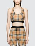 Burberry Dalby Check Sports Top Picture