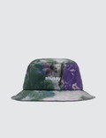 Stussy Curtis Tie Dye Quilted Bucket Hat Picture