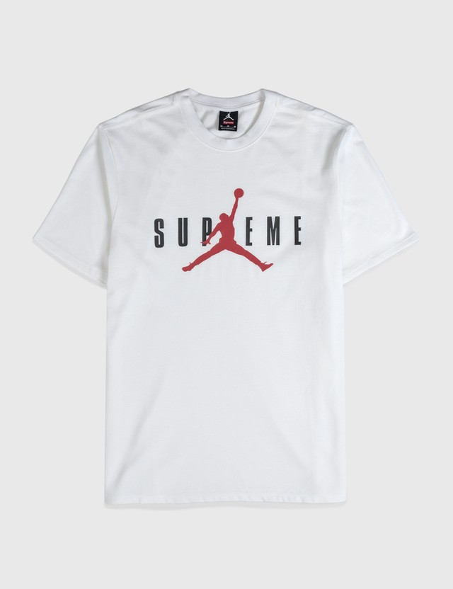 Supreme Supreme X Air Jordan Ss T-shirt White Archives