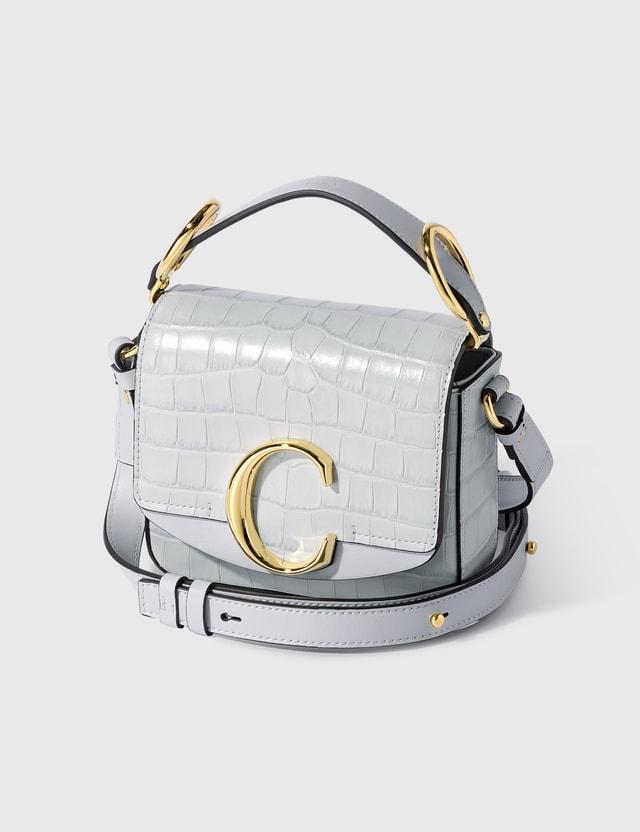 Chloé Mini Chloé C Bag Light Cloud Women