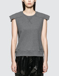 MM6 Maison Margiela Cut Off Sweat Tank Top Picutre