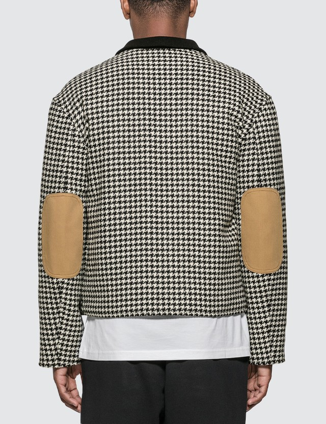 Loewe Houndstooth Jacket Patch Pockets