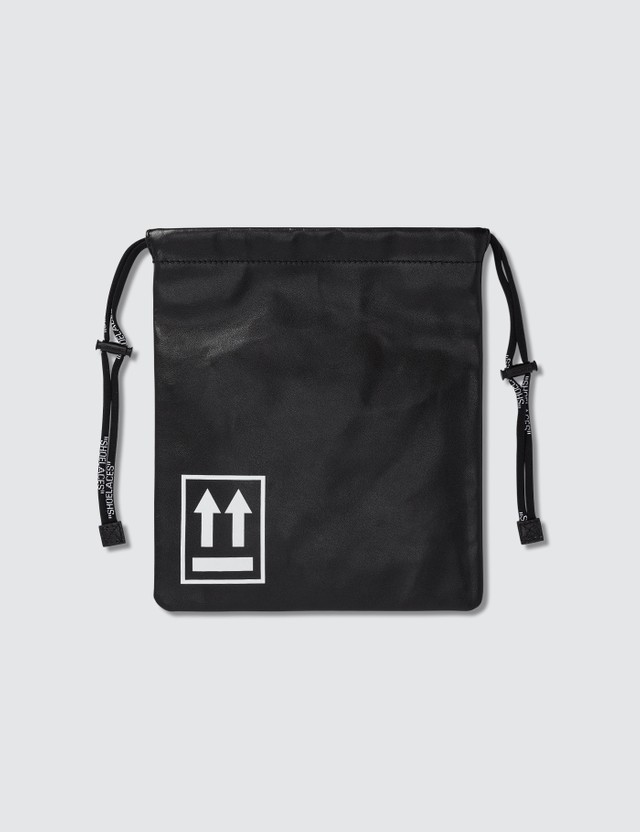 Off-White Small Drawstring Pouch Bag