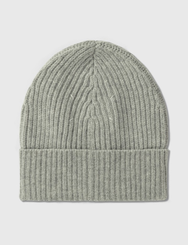 Maison Margiela Stitch Beanie Medium Grey Women