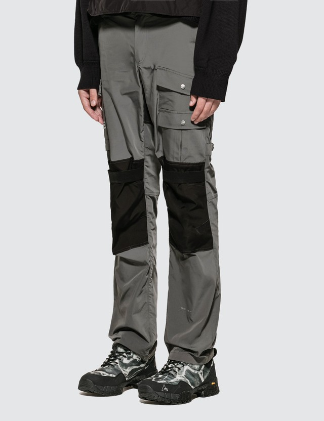 Heliot Emil Detailed Cotton Pants