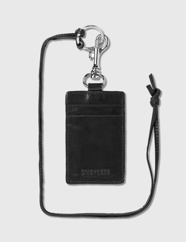 D'heygere Key Case Black / Silver Men
