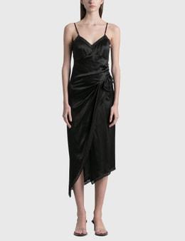 Alexander Wang.T Draped Slip Dress