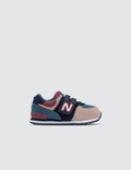 "New Balance 574 ""Color Canvas Pack"" Infants Picture"