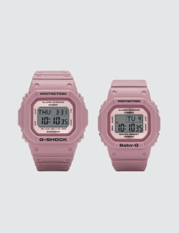 """G-Shock DW5600LF BGD560LF """"Lover's Collection 2018"""" Set Picture"""