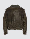 Neil Barrett Leather Jacket Brown