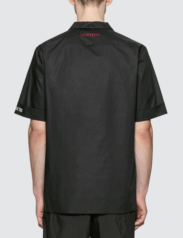 Valentino Moon Bowling Shirt