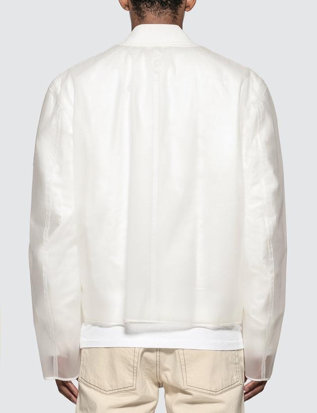 Helmut Lang Transparent Bomber Jacket