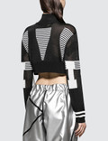 ALCH Cropped Technical Knit Jumper
