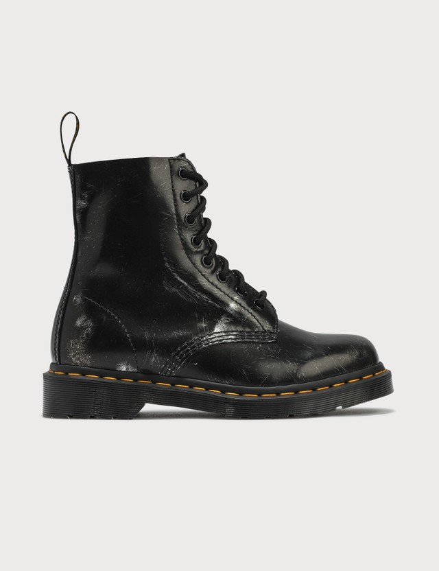 Dr. Martens 1460 Pascal Brush Off Leather Ankle Boots