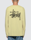 Stussy Basic Stussy Pig. Dyed L/S T-Shirt Picture