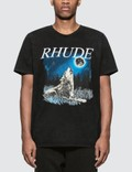 Rhude Wolf with The Moon S/S T-Shirt Picutre