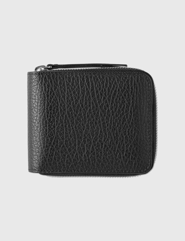Maison Margiela Zip-around Small Wallet Black Women
