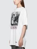 Heron Preston Black and White Herons Short Sleeve T-Shirt
