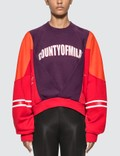 Marcelo Burlon Colorblock Sweatshirt Picture