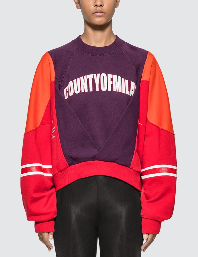 Marcelo Burlon Colorblock Sweatshirt