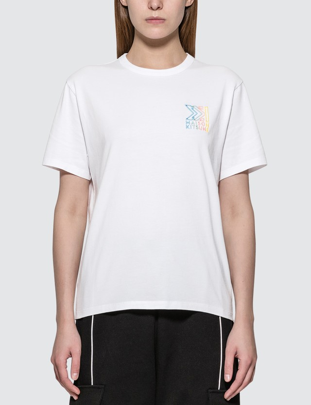 Maison Kitsune Monogram MK Embroidery T-shirt