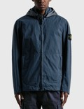 Stone Island Cotton And Cordura Hooded Jacket Picture