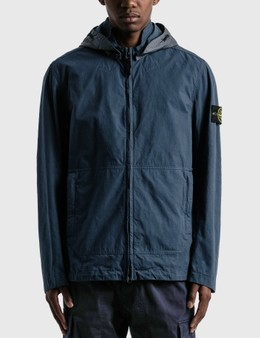 Stone Island Cotton And Cordura Hooded Jacket