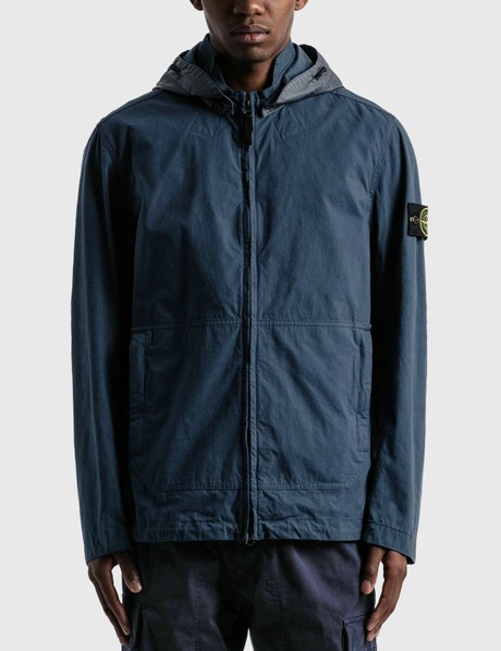 스톤 아일랜드 Stone Island Cotton And Cordura Hooded Jacket