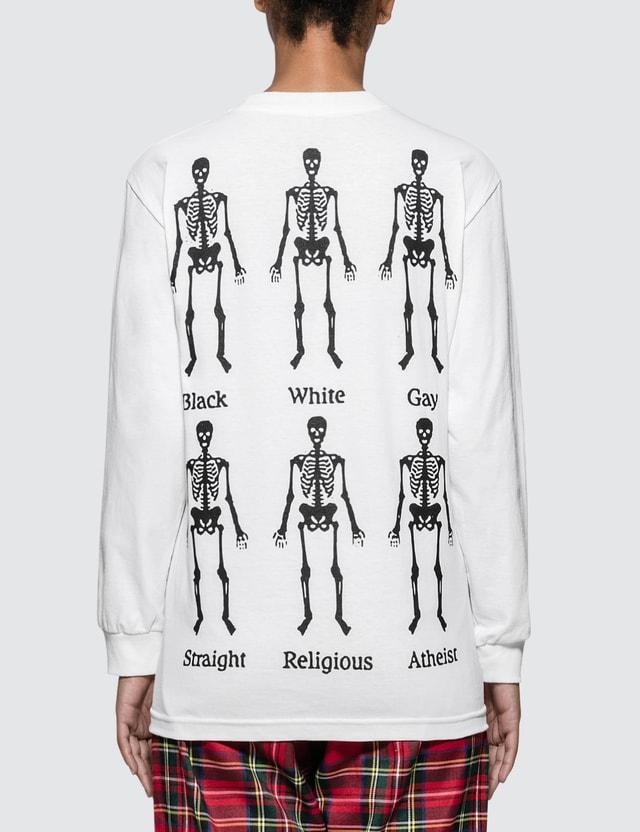 Pleasures Bones Long Sleeve T-shirt