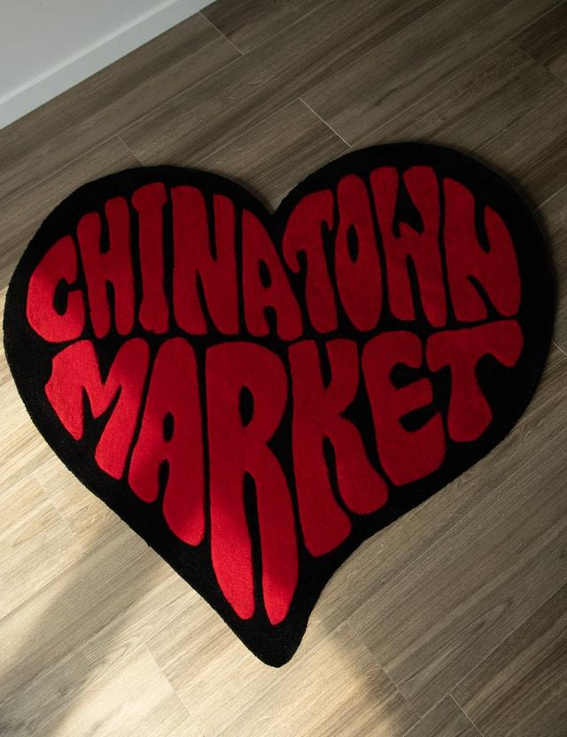 Chinatown Market Heart Rug Black Men