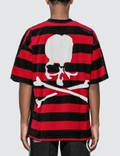 Mastermind World Back Skull Logo Velvet T-Shirt Picture