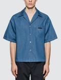 Prada Light Marine Denim Shirt Picutre