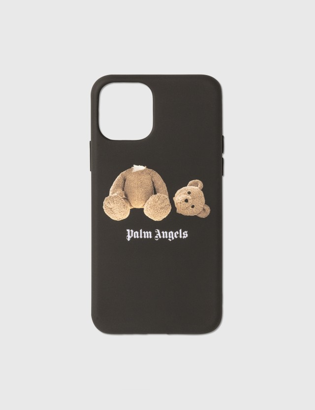 Palm Angels PA Bear iPhone 11 Pro Max Case Black Unisex