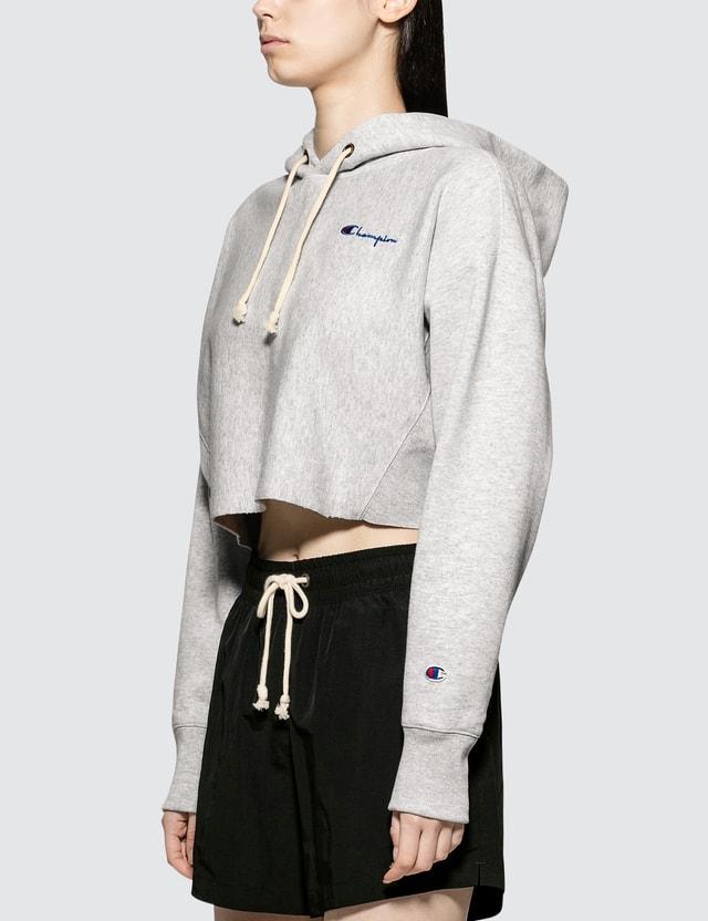 Champion Reverse Weave Cropped Hooded Sweatshirt