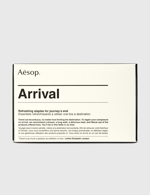 Aesop Arrival Travel Kit N/a Life