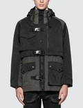 White Mountaineering GORE-TEX Infinitum Mixed Mountain Parka