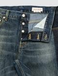 Alexander McQueen Side Tape Straight Leg Jeans